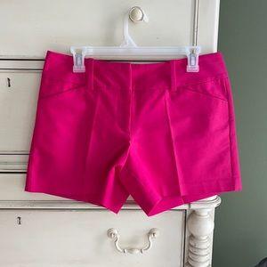 Ann Taylor Signature Pink Shorts. Size 6